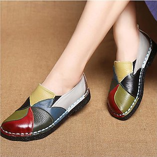 Women's Soft bottom Non-slip Dance Shoes Round Head Flat Shoes Casual Shoes