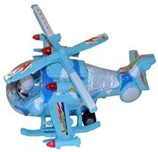 BATTERY OPERATED HELICOPTER FLASHING LIGHT AND SOUND