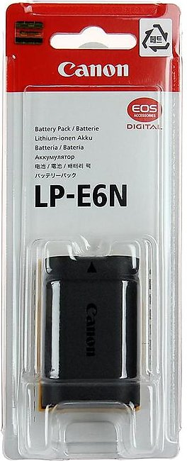 LP-E6N Battery Pack For Canon 5D Mark III 5D Mark II 6D 7D Mark II 7D 70D 60D 5…