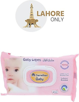 Carrefour Baby Wipes 56 wipes
