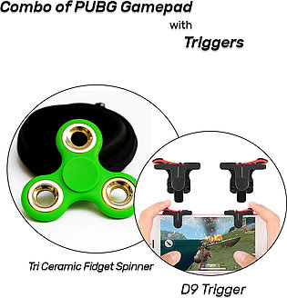 Combo of Triggers with Fidget Spinners