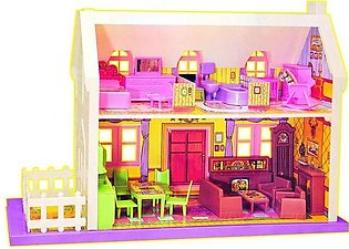 Big Country Doll House - Pink