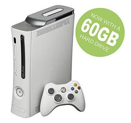 Xbox 360  60 GB with 9 Games Original Cd's &  1 Wireless Controller