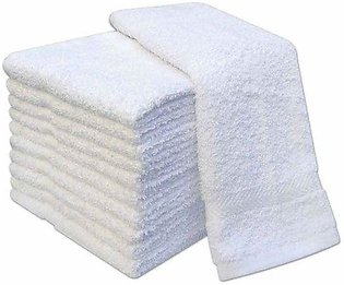 Pack of 12 - Hand Towel - White