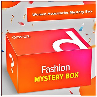 Girls Hair Accessories Mystery Box - Products Worth Rs (400)