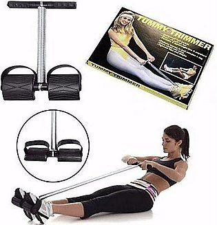 Double Spring Tummy Trimmer - Black
