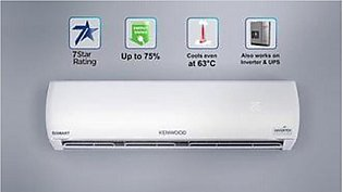 Kenwood eEco Plus Inverter KEE-1835S 75% Saving 1.5 Ton Heat & Cool (Metallic...