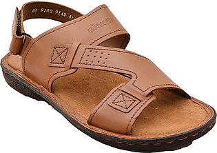 Urban Sole - Tan Casual Sandal for Men - BR-9102