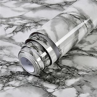 3m Marble Pattern Water-resistant Moistureproof Removable Self Adhesive Wallp...