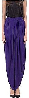 Purple Cotton Tulip Shalwar For Women