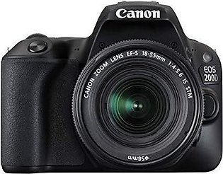 Canon 200D DSLR Camera With 18-55 Lens