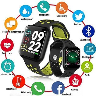 Smart Watch F8 Full Touch Display Blood Pressure, Heart Rate Monitor, Fitness...