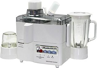 Panasonic MJ-M176P - 3 in 1 Juicer, Blender & Mill - White