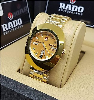HIGH QUALITY STYLES GOLD WATCH FOR MEN With Box