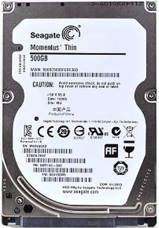 "500 GB - SATA Hard Disk Drive 2.5"" for Laptop"