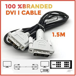DVI to DVI Cable 1.5m DVI to DVI Cable branded
