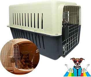 PC-XL Pet carrier Cage 31'' x 24'' x 24''(X-Large) Heavy Duty Kennel Pet Carrie…