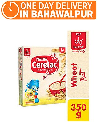 Nestle CERELAC Wheat 350g - Baby Food (One day delivery in Bahawalpur)