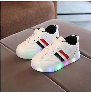 UR Children's Lighting Shoes Girls Casual Boys LED Flashing Shoes