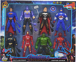 Marvel Ultimate Protectors Action Figure 8-Pack