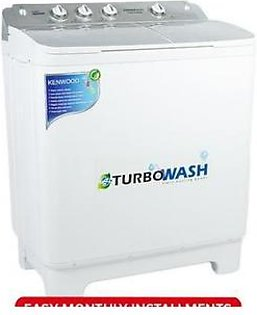 Kenwood KWM-1012 - Semi Automatic Washing Machine - 10 kg - White