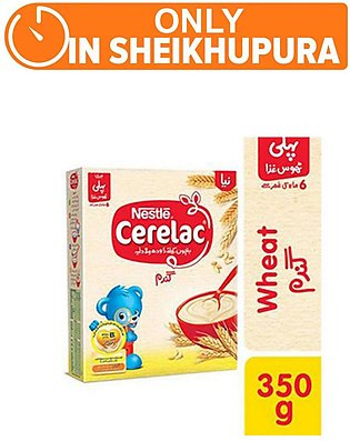 Nestle CERELAC Wheat 350g - Baby Food (One day delivery in Sheikhupura)