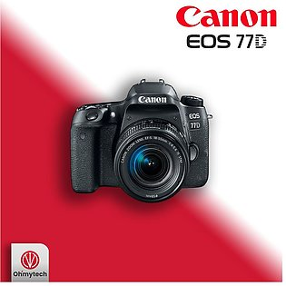 Canon EOS 77D DSLR Camera with 18-55mm Lens