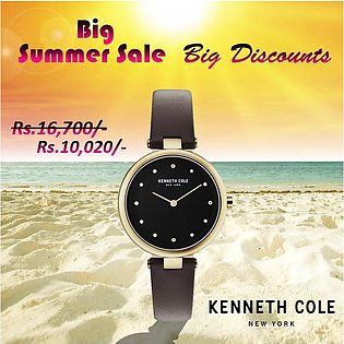 Kenneth Cole New York KC50513003 - Stainless Steel Wrist Watch for Women