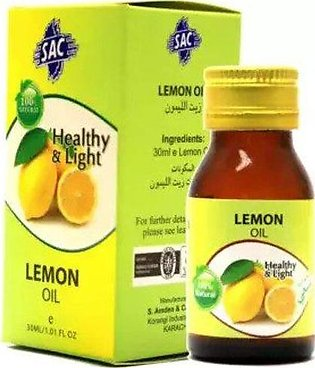 Original Lemon Oil - 30ml - herbal oil - for skin, health and aromatherapy - mu…