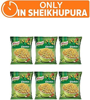 Knorr Noodles Chiken pack of 6 (One day delivery in Sheikhupura)