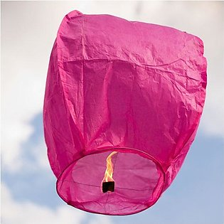 Sky Lanterns Multi colour Good quality (Pack of 10)