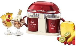Electric Dual Ice Cream Maker