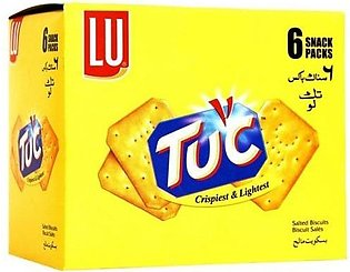 Lu Tuc Biscuits Snack Pack Box Of 6