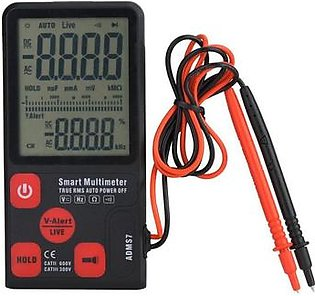 multimeter BSIDE ADMS7 Portable Automatic LCD Display Di tal Multimeter 6000 Counts di tal multimeter