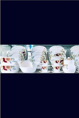 72 pieces Marble dinner set for 8 persons service
