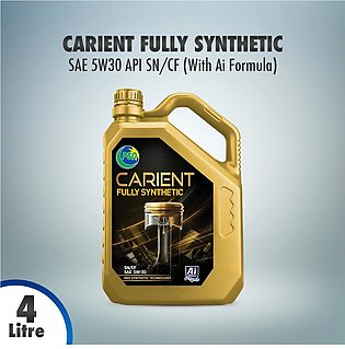 PSO SAE 5W30 - Carient Full Synthetic Motor Oil With AI Formula - 4 Liter