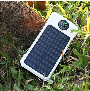 The old tree  20000mAh Solar Power B ank DIY Case Dual USB Charger + LED Flas...