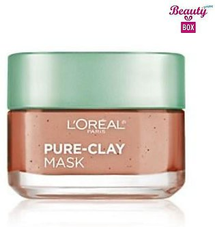 Loreal Pure - Clay Exfoliate & Refining Face Mask