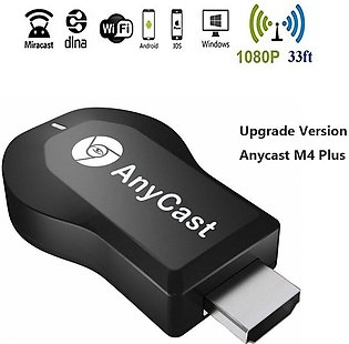 Anycast M4 Plus 1080P Wireless Display Adapter Digital AV to HDMI Connector TV