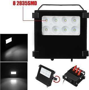 8 LED Solar Light Outdoor Lamp Security Floodlight White Light IP65 Waterproof