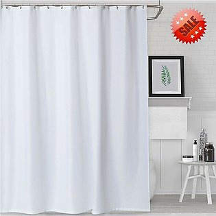 Shower Curtain - Water Repellent - White