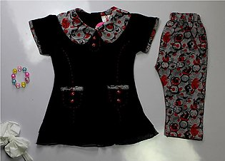 2Pcs Baby Girl New Born Kids Children Clothes Export Quality