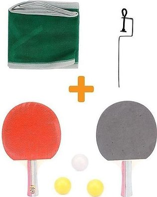 Pack of 5 - Table Tennis Set - Multicolour