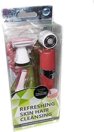 Refreshing Skin Hair Cleansing Face and Body Striipper