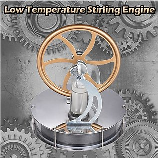 Low Temperature Stirling Engine Motor Steam Heat Education Model Toy DIY