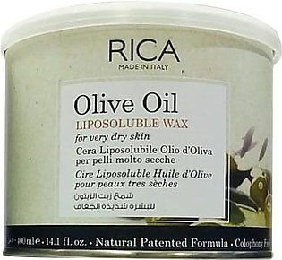 Rica Wax Olive Oil 400ml For Dry Skin