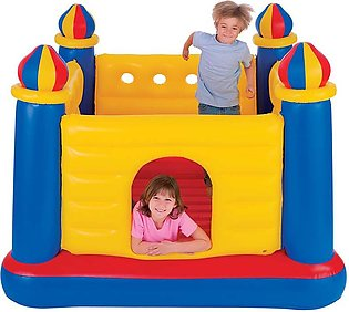 IntexJump-O-Lene Yellow Inflatable Jumping Castle Bouncer (69 inches) - 48259