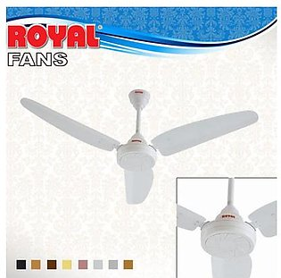 Royal Fans Ceiling Fan - Passion Model 56'' - Copper Winding - White