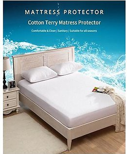 Waterproof Mattress Protector Anit Allergy Fitted Mattress