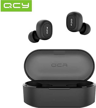 QCY QS2 TWS Bluetooth Earbuds V5.0 Headphones 3D Stereo Sports Wireless Earphon…